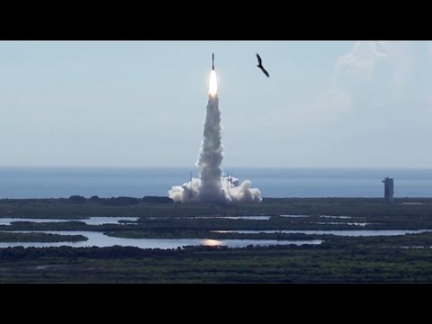 Atlas V 551 launches MUOS-5 satellite