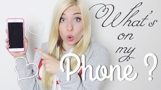 WHAT'S ON MY PHONE ? ♡  BibisBeautyPalace Thumbnail