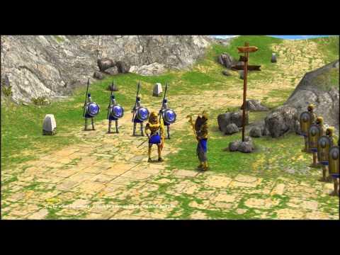 Age Of Mythology: The Titans Cutscenes [1/2]