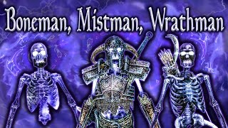 Skyrim SE - Conjure Boneman, Mistman & Wrathman - Unique Spells Guide