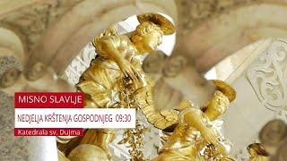 Nedjeljna Sv. Misa UŽIVO - katedrala sv. Dujma - Split 10.01.2021.