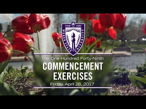 Weber State University Spring 2017 Commencement