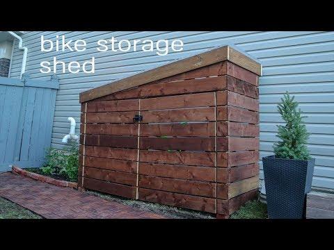 DIY Storage Shed // Bike Shed // Garden Shed