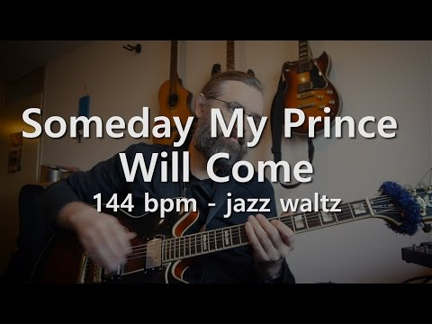 Someday My Prince Will Come  - 144 bpm - Jazz waltz
