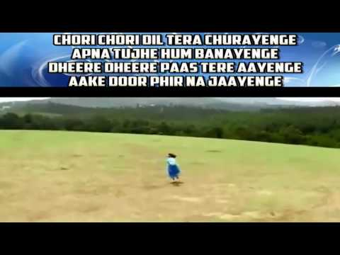 Chori chori dil tera churayenge karaoke only for male singer by Rajesh Gupta