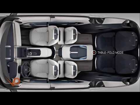 Third Row Seating >> L'intérieur de la voiture 7 places Land Rover 2017 - YouTube
