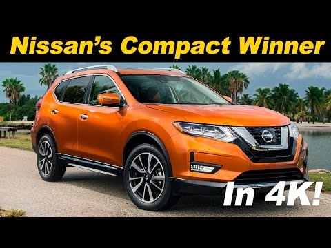 2017 Nissan Rogue First Drive Review - DETAILED in 4K UHD!