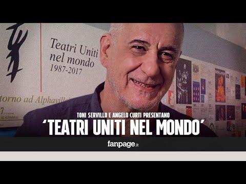 I primi 30 anni di Teatri Uniti, Toni Servillo: Nessuna fatica, solo la gioia di andare in scena