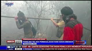 Panglima TNI: Ada Tiga Masalah Utama dalam Pemadaman Kebakaran Riau