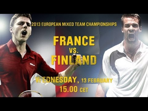 Group Stage (Session III, Day 2) - European Mixed Team Championships 2013