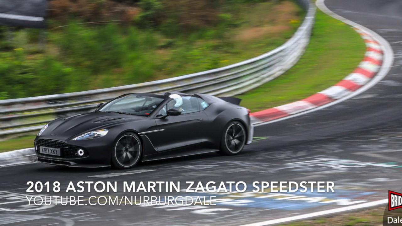 1 3m Aston Martin Vanquish Zagato Speedster On The Nurburgring Youtube