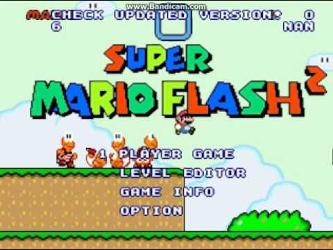 My games from Super mario flash 2 - Awesome Games
