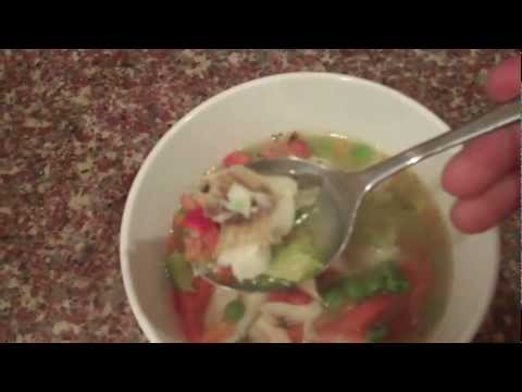 Low Calorie Easy To Make Slimming Fish Soup Recipe