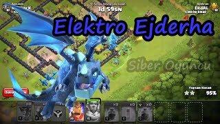 ELEKTRO EJDERHA FENA ÇARPIYOR // CLASH OF CLANS