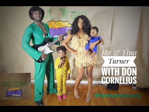 Awesome Family Diy Costumes Ike And Tina Turner Soultrain Youtube
