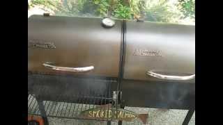 Traeger Smoked Salmon - Smoker Setup