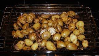 Easy Onion Roasted Potatoes