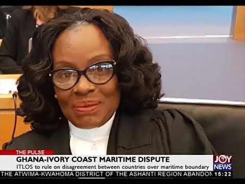 Ghana - Ivory Coast Maritime Dispute - The Pulse on JoyNews (22-9-17)
