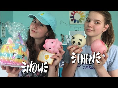 SQUISHIES THEN VS NOW! (inspired by potana)