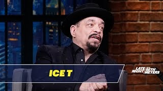 Ice T Doesn't Trust People Who Don't Like Dogs