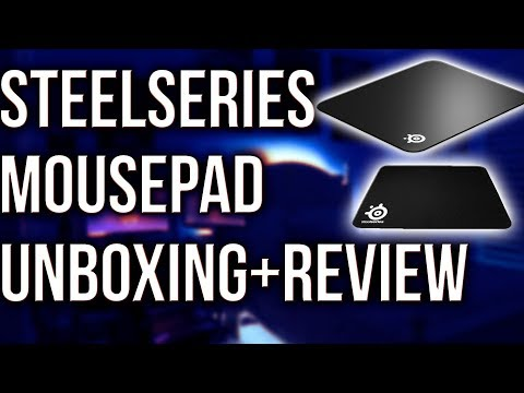 SteelSeries QCK Mousepad Unboxing+Review!