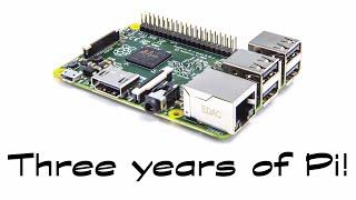 Three years of Pi!