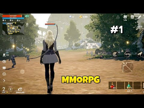 Top 8 Best MMORPG Android, IOS Games 2020 #1