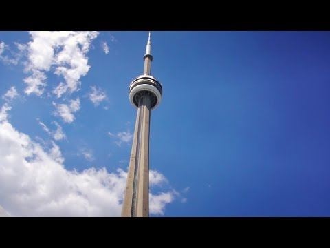 CN Tower Toronto, Canada - a visit to the top