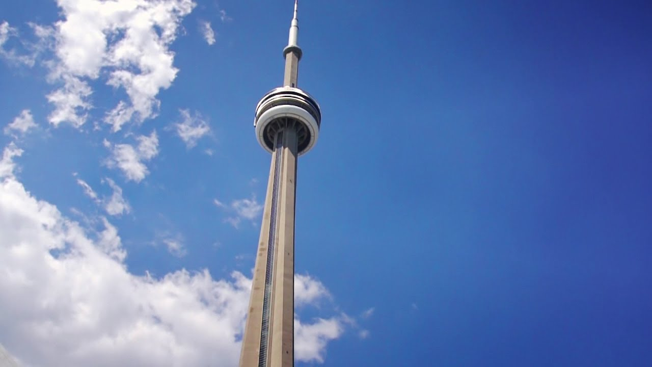 Building Construction Wallpaper Hd Cn Tower Toronto Canada A Visit To The Top Youtube