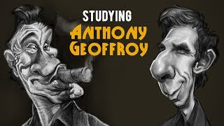 Studying Master Artist Anthony Geoffroy