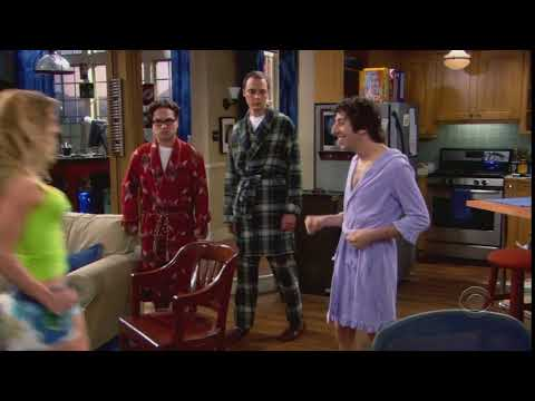 """There's my little engine that could."" The Big Bang Theory quote S01E07 Christy"