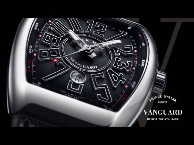 FRANCK MULLER VANGUARD - BEYOND THE STANDARD -