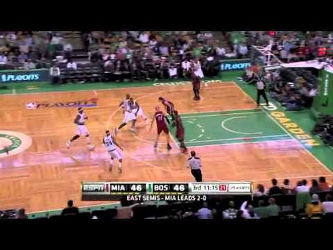 NBA Playoffs 2011: Miami Heat Vs Boston Celtics Game 3 Highlights (2-1)