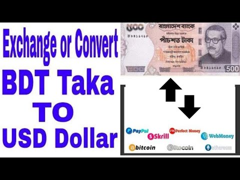 How To Exchange Or Convert BDT Taka To USD Perfect Money
