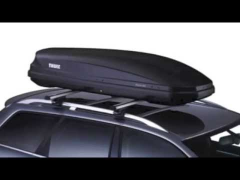 thule pacific 600 anthrazit aeroskin dachbox youtube. Black Bedroom Furniture Sets. Home Design Ideas