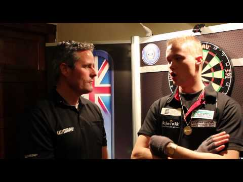 Winmau World Masters Interview with Wesley Harms