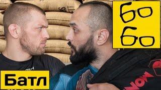 Сэндбэг-батл! Андрей Басынин VS Анвар Абдуллаев — битва на мешках (физподготовка бойцов)