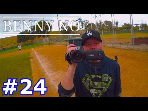 BEHIND THE SCENES AT SOFTBALL | BENNY NO | VLOG #24