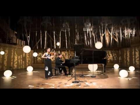 Sayaka Shoji and Jonathan Gilad play Mozart : Violin Sonata No.18 in G major, K.301/293a