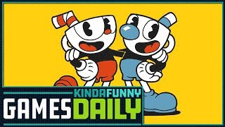 Cuphead Review in Progress - Kinda Funny Games Daily 10.02.17