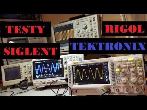 Wielki test oscyloskopów Rigol, Siglent i Tektronix!