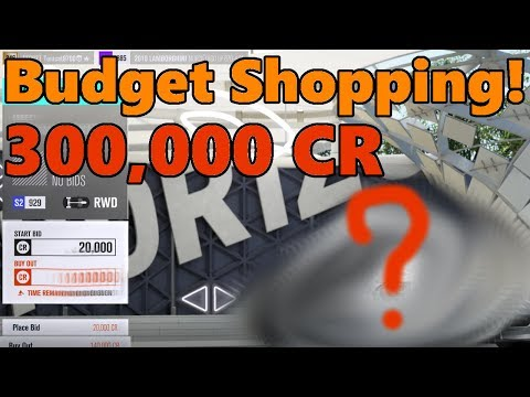 Forza Horizon 3 What Can You Get for a 300K Budget? Used Car SHOPPING!