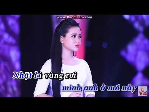 Karaoke - Đường Tím Ngày Xưa { sc } Quách Hùng moi feat