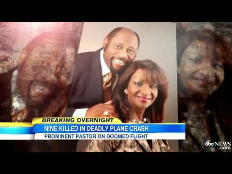 Breaking News Bahamas Plane Crash  Preacher Myles Munroe and wife killed, multiple dead