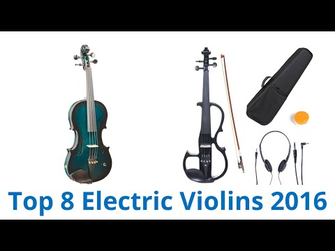 8 Best Electric Violins 2016