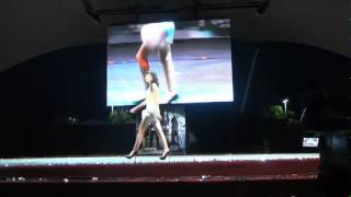 Pasarela y Modelaje en la FENADU 2012