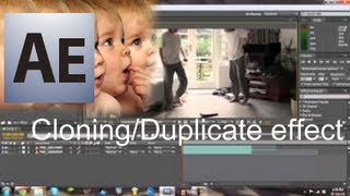 How to create a clone (duplicate) effect in Adobe After Effects