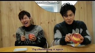 [HM] 141225 Tohoshinki - Mission Card 39 (Eng Sub)
