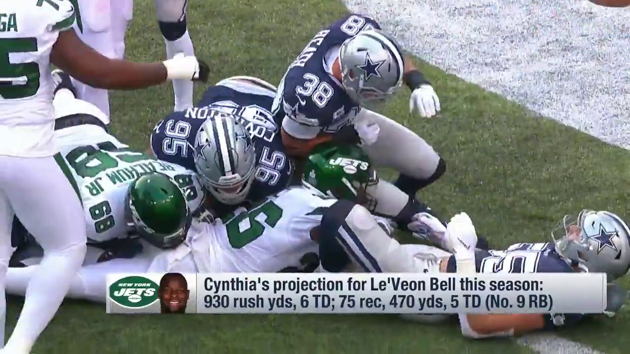 NFL Network's Cynthia Frelund Predicts Le'Veon Bell's 2020 ...