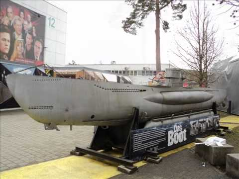"""U-96 SUBMARINE - GIANT MODEL FROM CLASSIC FILM """"THE BOAT"""" (DAS BOOT)"""